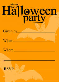 halloween invitation template free gallery for free printable