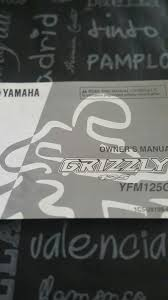 manual yamaha grizzly 125 yfm 125 gy 800 00 en mercado libre