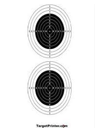 printable small bullseye shooting targets