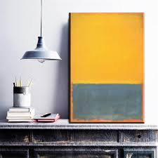 compare prices on yellow canvas art online shopping buy low price zz177 modern abstract canvas art mark rothko yellow green color canvas pictures oil art paintings for livingroom bedroom decor
