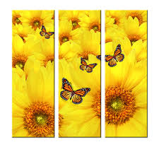 sunflower wall art shenra com sunflower wall art promotion shop for promotional sunflower wall