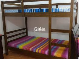 bunk bed double deck bed qatar living