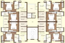 Construction Floor Plans More Townhouse Duplex House Construction Floor Plans Blueprint