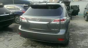 price of lexus rx 350 nairaland real smooth toks 2015 lexus rx350 premium edition autos nigeria