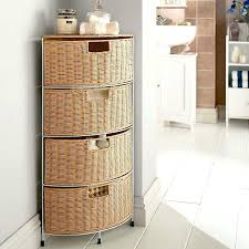 Bathroom Wicker Furniture Amazing Wicker Bathroom Storage On Wicker Bathroom Cabinet Rattan