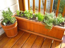 herb garden planter apartment herb garden balcony optional decoration balcony ideas
