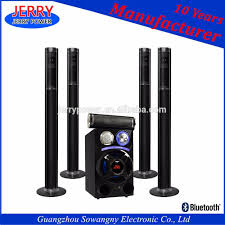 home theater columns 2017 popular line array speaker wireless 5 1 home theater column