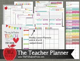 free teacher planner template the polka dot posie new teacher homeschool planners as a teacher myself i understand how crucial it is to be organized and on task throughout the week especially when you take into consideration how much