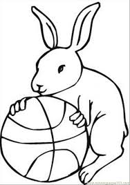free basketball coloring pages kids coloring