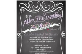 after the wedding party invitations after wedding party invitations at home reception invitation