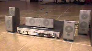 home theater panasonic panasonic sa ht720 youtube