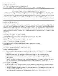 Sample College Professor Resume Sample Resume For High Teacher With Experience Resume