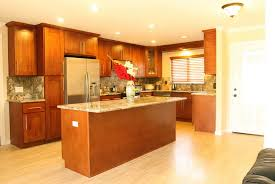 cherry wood kitchen cabinets paint color home design ideas