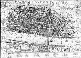 Map Of London England by Medieval London Maps