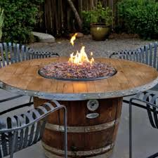 wine barrel fire table diy outdoor propane fire pit eb4242ac4f3756e8d0f7fd6f26c7c1c7 wine