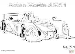 2011 aston martin amr1 coloring page free printable coloring pages
