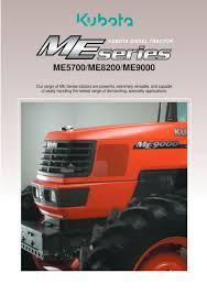 kubota diesel tractor me series kubota construction machinery