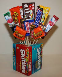 candy bar bouquet how to make a candy bouquet thriftyfun
