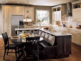 Modern Kitchen Island With Table Attached Kitchen Island With Table Attached Trends Also Dining Design