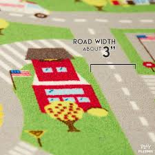 Kids Play Rugs With Roads by Kids Play Car Rug Community Carpet Mat Large 78