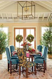 Southern Living Dining Rooms by This Cottage Is 2000 Square Feet Of Holiday Cheer Southern Living