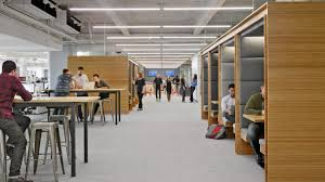 Offices by Why Square Designed Its New Offices To Work Like A City The