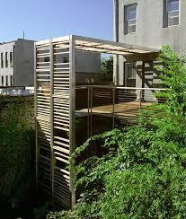 Roof Trellis Urban Trellis U0026 Roof Deck Modern Deck New York By Leone