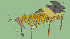 carport building plans free carport plans howtospecialist how to build step by step