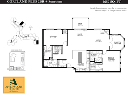 Sunroom Floor Plans by Applewood Pointe Of Shoreview