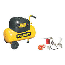 stanley 8216035scr011 24ltr compressor with 5 piece accessory kit
