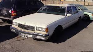 1986 chevy caprice cars for sale