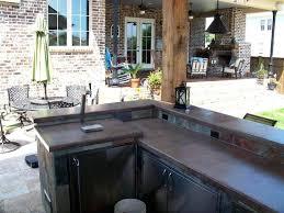 cuisine exterieure beton cuisine exterieure beton vu comment faire une cuisine exterieure