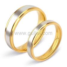 couples wedding rings titanium couples wedding bands with names engraved set of 2