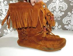 womens brown leather boots size 9 72 best moccasins images on moccasins shoes and