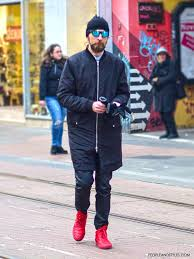 casual mens casual s with sneakers and mirrored sunglasses