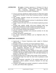Oil And Gas Electrical Engineer Resume Sample by Chemical Process Engineer Cover Letter Sample Letter For Child