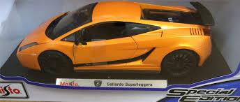 lamborghini gallardo replica maisto metal diecast 1 18 replica model american super cars ebay