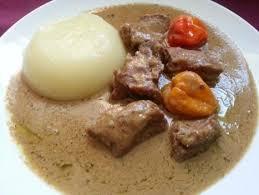 cuisine africaine la cuisine togolaise fufu et sauce d arachide