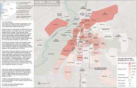 Damascus Syria Map by Syria Map Documenting The Syrian Uprising