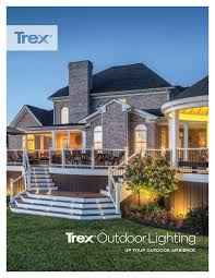 Trex Lighting Trex Outdoor Lighting Brochurepdf