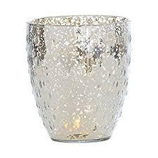 Large Candle Vase Amazon Com Luna Bazaar Vintage Mercury Glass Vase Or Candle