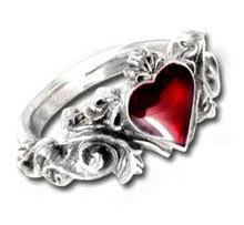 betrothal ring alchemy betrothal heart vire ring