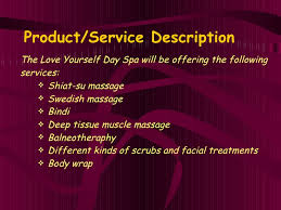 yourself day spa business plan