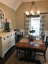 decorating this dining room and making small changes made such a decorating