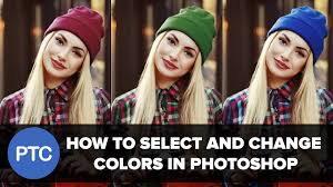 how to select and change colors in photoshop replace colors in a