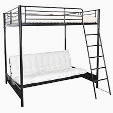 lit mezzanine canapé pas cher lit mezzanine noir 140 190 avec canape clic superbe ikea