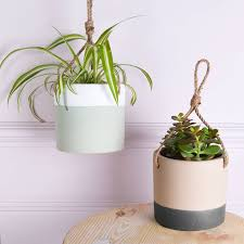 white hanging planter hanging ceramic planters ceramic planters and planters