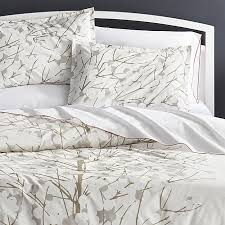 Pillow And Duvet Set Bed Linen Glamorous Crate And Barrel Bedding Duvet Covers