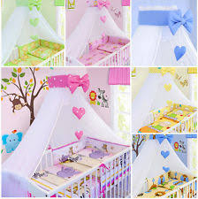Cot Bed Canopy Cot Canopy Baby Ebay