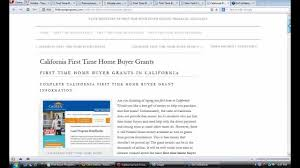 new home buyers grant california time home buyer grants